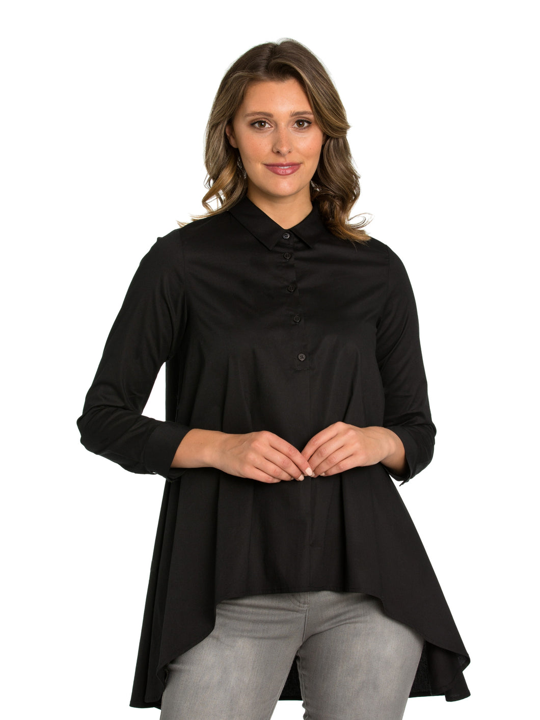 Marco Polo Black Modern Shirt