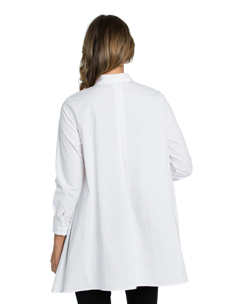 Marco Polo White Modern Shirt