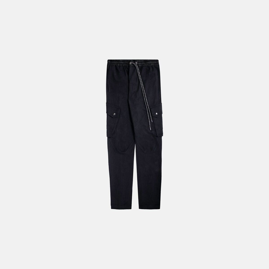 TREKKER CARGO PANTS - BLACK