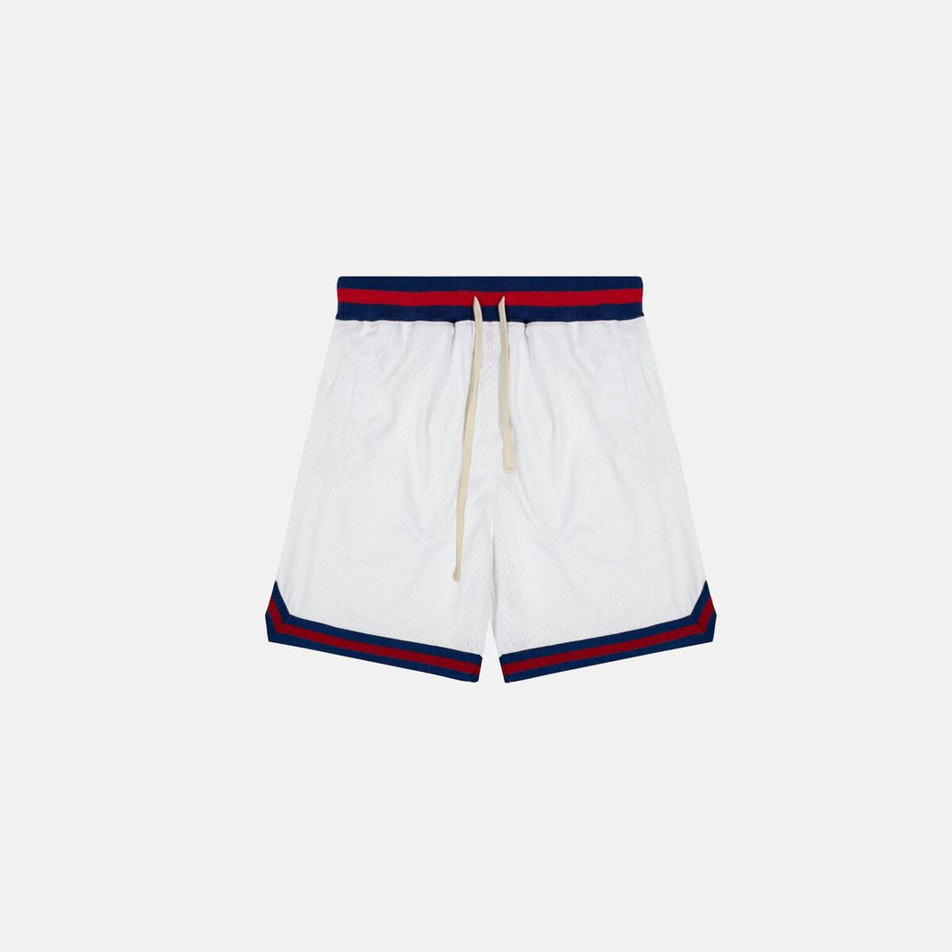 DAILY VARSITY SHORTS - WHITE