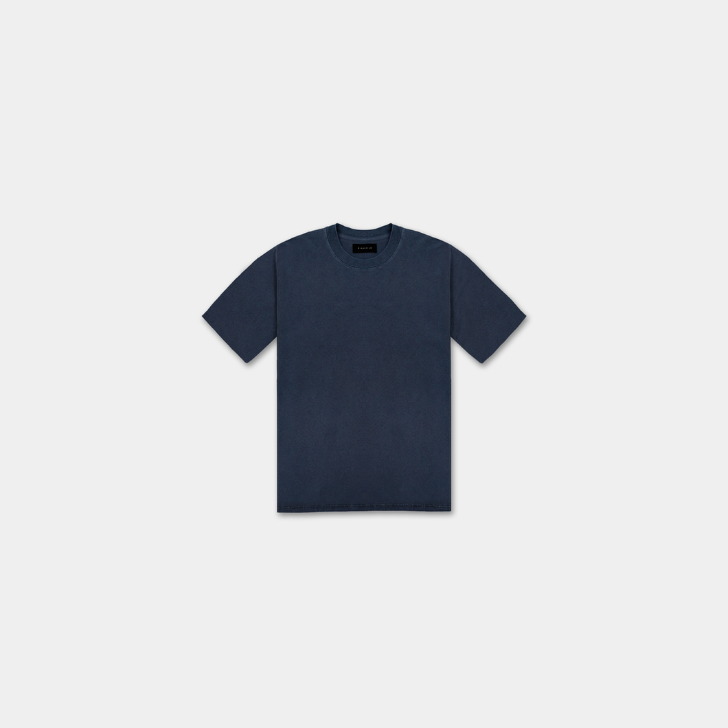WASHED TEE - NAVY