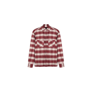 PREMIUM BRUSHED FLANNEL - DEEP RED