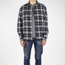 Load image into Gallery viewer, FLANNEL - BLACK