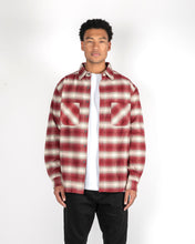 Load image into Gallery viewer, PREMIUM BRUSHED FLANNEL - DEEP RED