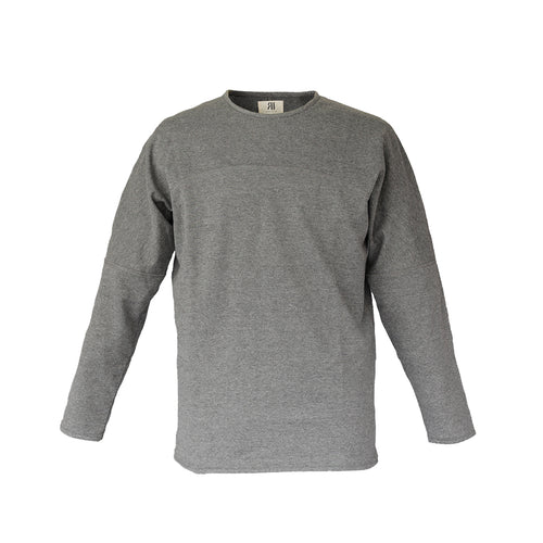 PANEL LONG SLEEVE - CHARCOAL GRAY