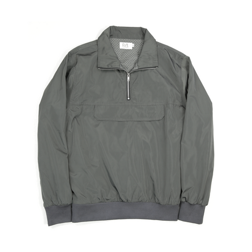 TIER 2 PULLOVER JACKET - GRAPHITE GREY