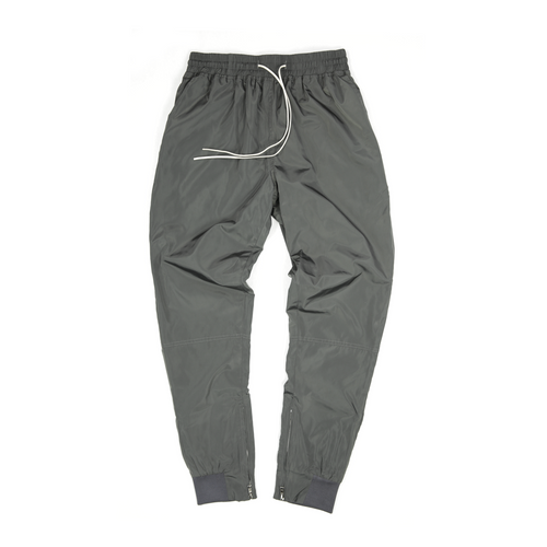 TIER 2 ZIPPER PANTS - GRAPHITE GREY