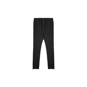 CORDED DAILY SWEATPANTS - JET BLACK