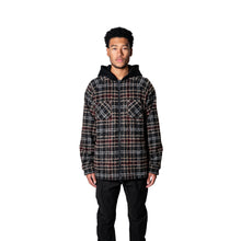 Load image into Gallery viewer, FLANNEL HOODED JACKET - TAN