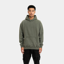 Load image into Gallery viewer, DAILY HOODIE - WASHED OLIVE