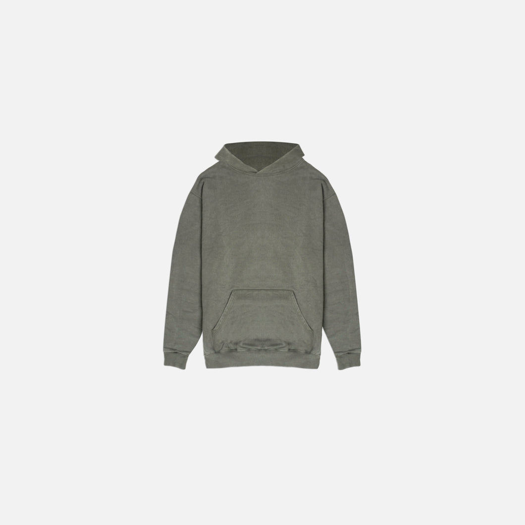 DAILY HOODIE - WASHED OLIVE