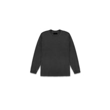 Load image into Gallery viewer, LONG SLEEVE WASHED SHIRT - BLACK