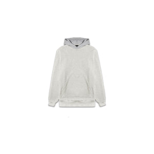 TWO TONE HOODIE - LIGHT HEATHER