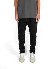 Load image into Gallery viewer, CORDED DAILY SWEATPANTS - JET BLACK