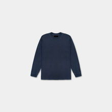 Load image into Gallery viewer, LONG SLEEVE WASHED SHIRT - NAVY