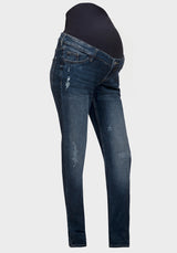 Maternity over bump boyfriend jeans