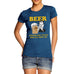 Women's Beer Helping Ugly People Funny T-Shirt