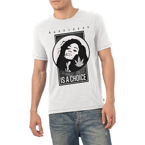 Happiness is a choice Mens Graphic T-Shirt