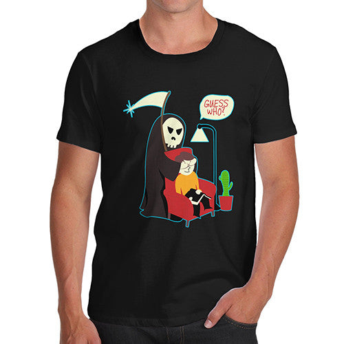 Men's Guess Who Spooky Funny T-Shirt
