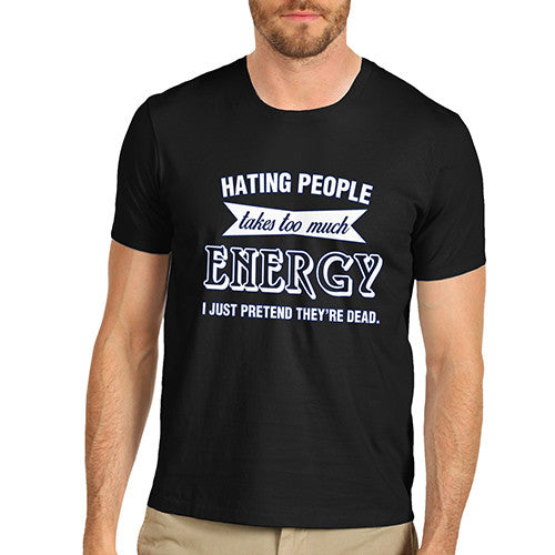 Men's Hating People Funny T-Shirt