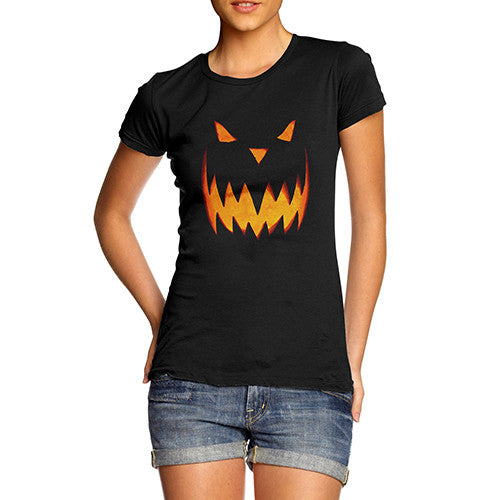 Womens Spooky Halloween T-Shirt