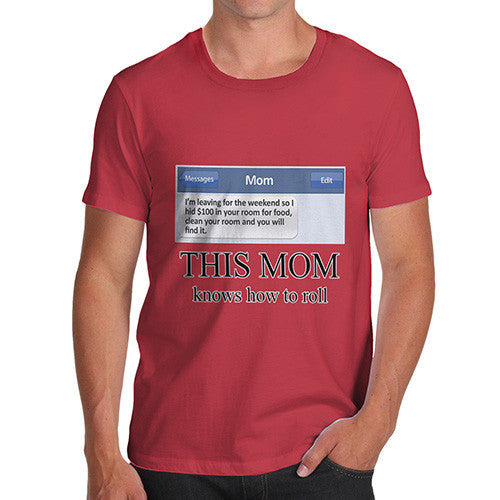 Men's Clean Your Room Funny T-Shirt