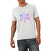 Men's Multi-coloured Snowflake Graphic T-Shirt