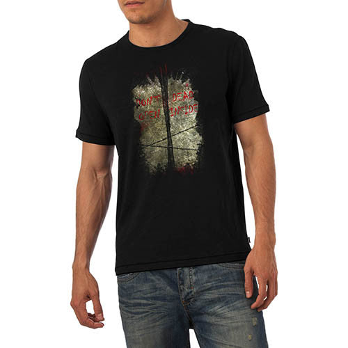 Men's Don't Open Dead Inside Zombie Gaming T-Shirt
