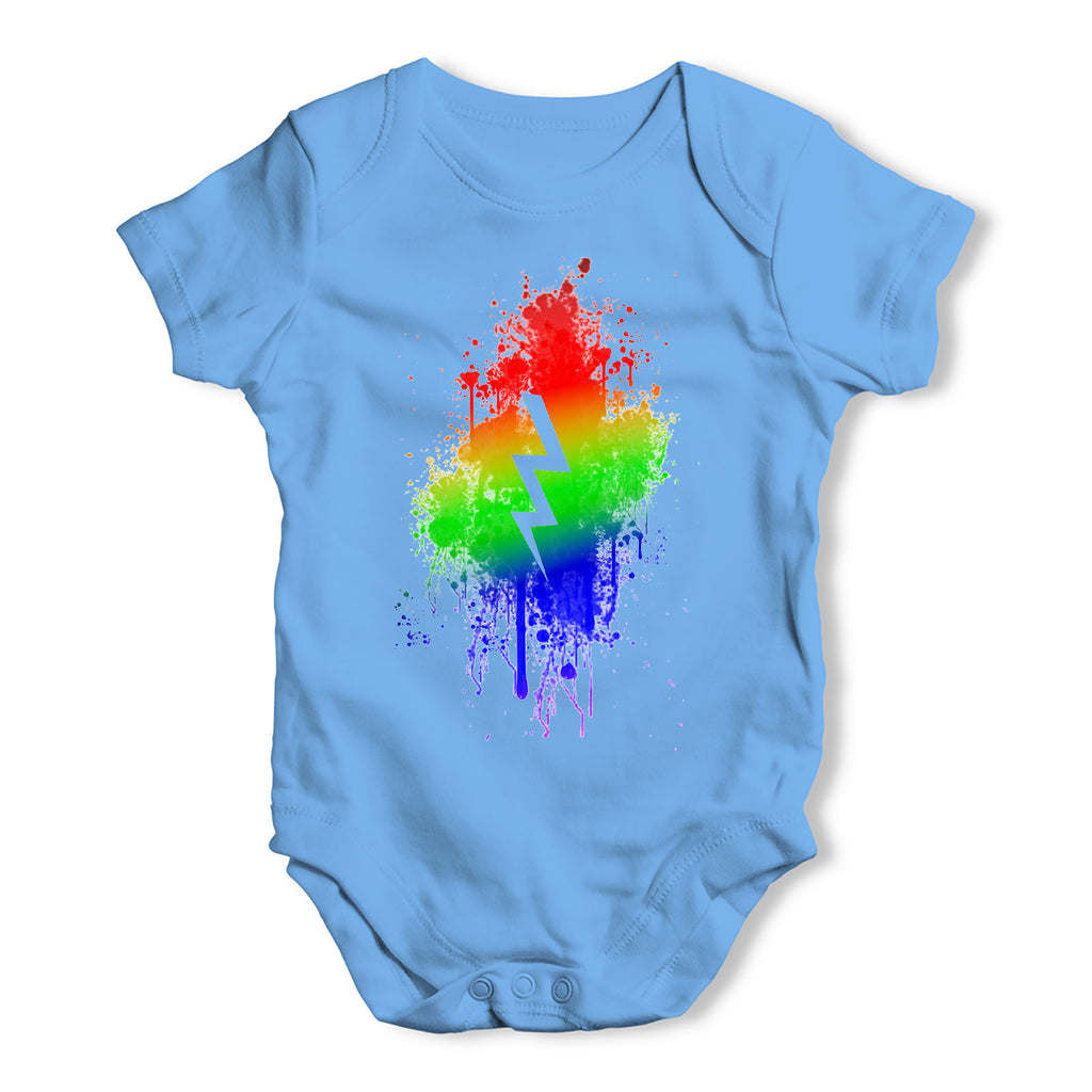 Lighting Bolt Baby Grow Bodysuit