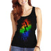 Women's Lighting Bolt Printed Graphic Tank Top