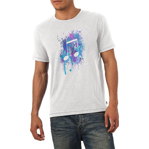 Men's Musical Note Printed Graphic T-Shirt