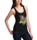Womens Print Leopard Tank Top