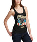 Womens American Eagle Live And Die Free Tank Top