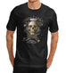 Mens New York City Skull King Gothic T-Shirt