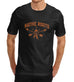 Mens Native Roots Distress Print Graphic T-Shirt