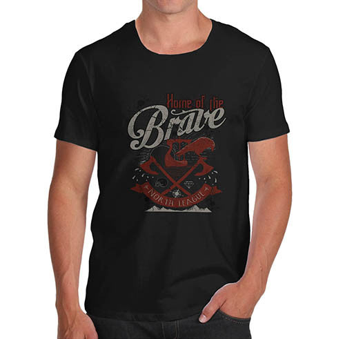 Mens Home of the Brave T-Shirt