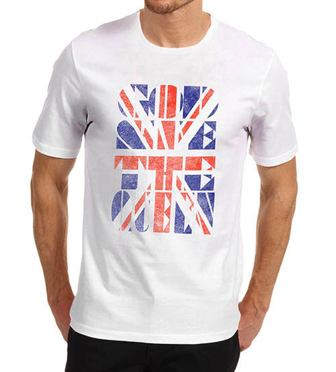 Mens Union Jack God Save the Queen T-Shirt