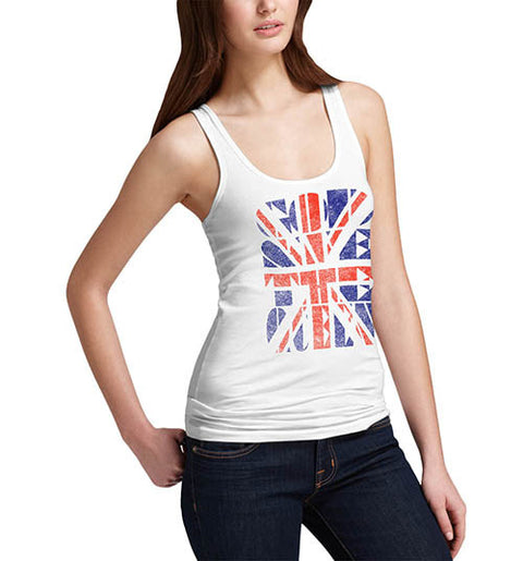 Womens Union Jack God Save the Queen Tank Top