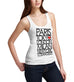 Womens Paris Tokyo London Fashion Capitals Tank Top
