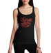 Womens Get Away From it all Funny Print Tank Top