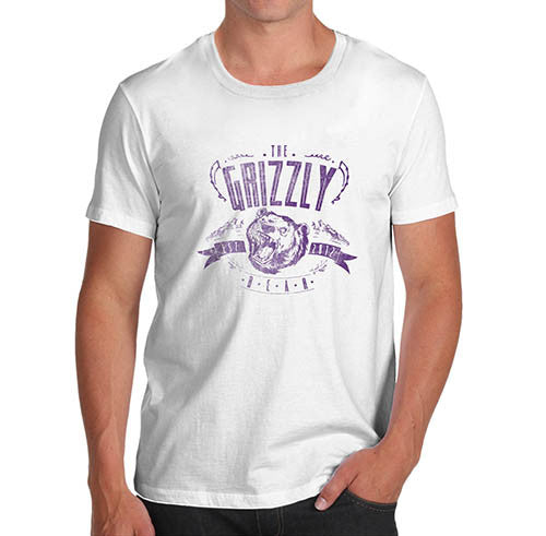 Mens The Grizzly Bear Funny T-Shirt