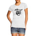 Womens The Wild Cat Funny T-Shirt