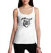 Womens The Wild Cat Funny Tank Top