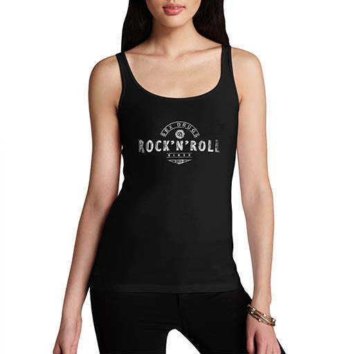 Womens Sex Drugs and Rock N Roll Tank Top