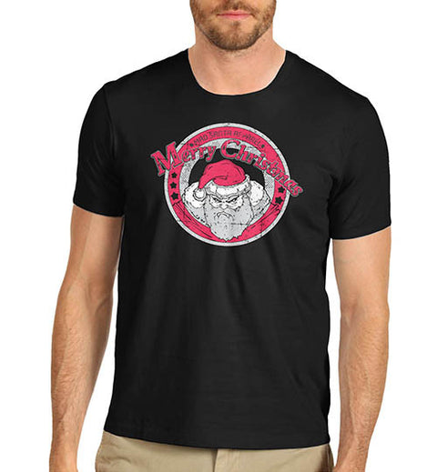 Mens Grumpy Santa Christmas T-Shirt
