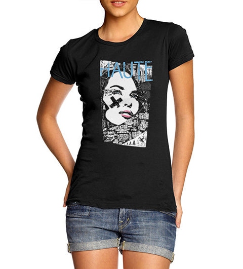 Womens Haute Couture Printed T-Shirt