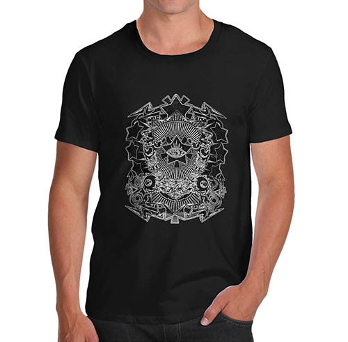 Mens Cult All Seeing eye Print T-Shirt