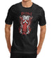 Mens Satanic Occult Print T-Shirt