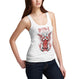 Womens Satanic Occult Print Tank Top