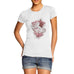 Womens Dirty Dancing Distress Print T-Shirt